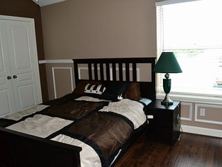 Houston house photo - Upstairs Second Bedroom with Queen Size Bed & Waterfront View