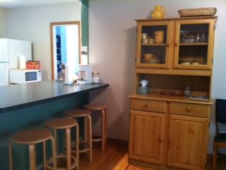 Sawyer house photo - Kitchen Island, with 4 stools
