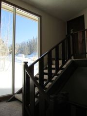 Brian Head cabin photo - Stairwell leading to lofts and a guest bedroom.