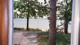 Lake City cottage photo - View from door to beach.