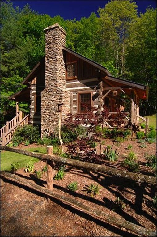Little creek antique log cabin near boone new vrbo for Boone cabins for sale