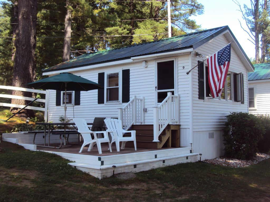 Waterfront Cottage With Sandy Beach Dock Vrbo