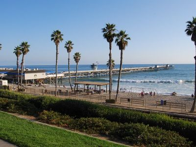 A short drive to San Clemente Beach and Pier