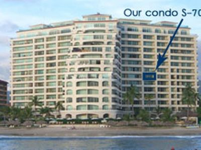 Bay View Grand - view from the ocean