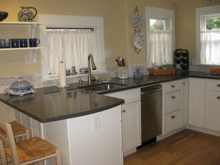 Pacific Grove cottage photo - Brand new cabinets, Bosch dishwasher, garbage disposal