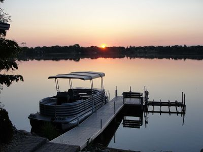 Pontoon is available for our guests use