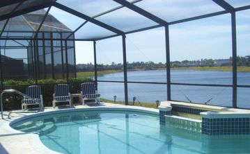 Sunset Lakes villa rental - Lakeview Swimming Pool