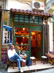 Istanbul apartment photo - One of many cafes in neighborhood