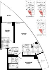 Toronto condo photo - Excellent floor plan - spacious and well laid out.