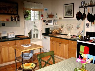 Cape May house photo - Our kitchen, a fun focal point for guests