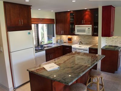 Newly renovated kitchen will fulfill all of your 'chef's' needs.