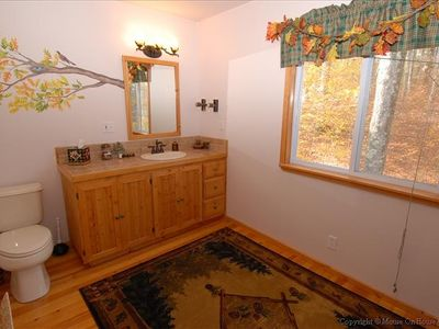 Canaan Valley house rental - Master Bath