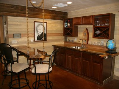 wet bar downstairs