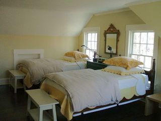 Barnstable house photo - One of upstairs bedrooms
