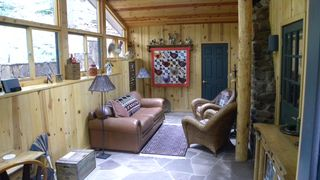 Sedona cabin photo - Sunroom