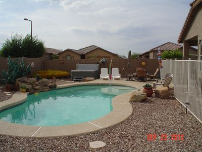 Buckeye vacation rental vrbo 385361 4 br greater for Az cabin rentals with hot tub