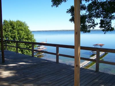 Amazing View of the Lake from HUGE Deck