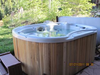 Breckenridge townhome photo - outdoor hot tub
