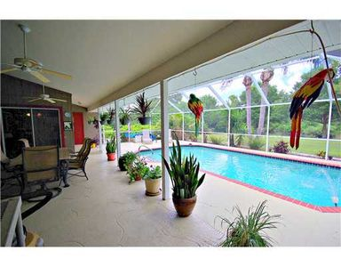 North Port house rental - Lanai