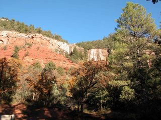 Durango cottage photo - The Red Hermosa Cliffs in the backyard