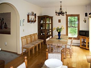 Tannersville house photo - Dining room from kitchen