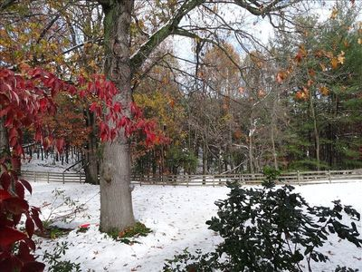 A late autumn snow.