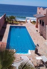 Todos Santos house photo - Gorgeous Lap Pool w/ Beach Access - View from the Guesthouse