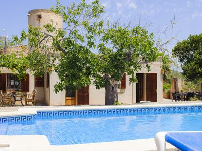 old mill, restored and modernised, pool, quiet location