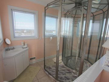 Top Floor Sea Shell Shower Bath