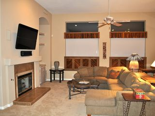 "Scottsdale Troon house photo - Large, 11' cieling family room with plenty of space and surround sound 50"" tv!"