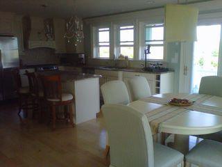 Charlestown cottage photo - .Kitchen and dining area