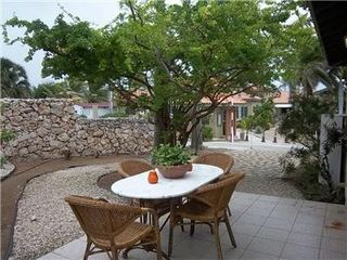 Aruba condo photo - Patio w/ outside dining
