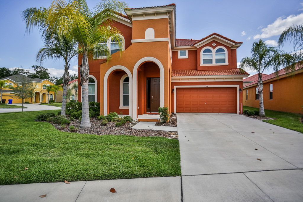 Luxury Vacation Home In Florida 4574ml 6 Br Vacation House For Rent In Kissimmee Florida