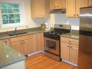 Wilmington house photo - Maple, granite, stainless kitchen