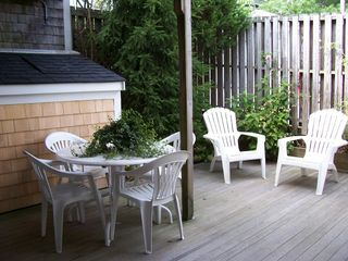 Provincetown condo photo - Gated,private patio