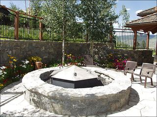 Avon house photo - Outdoor Fire Pit at the Club House