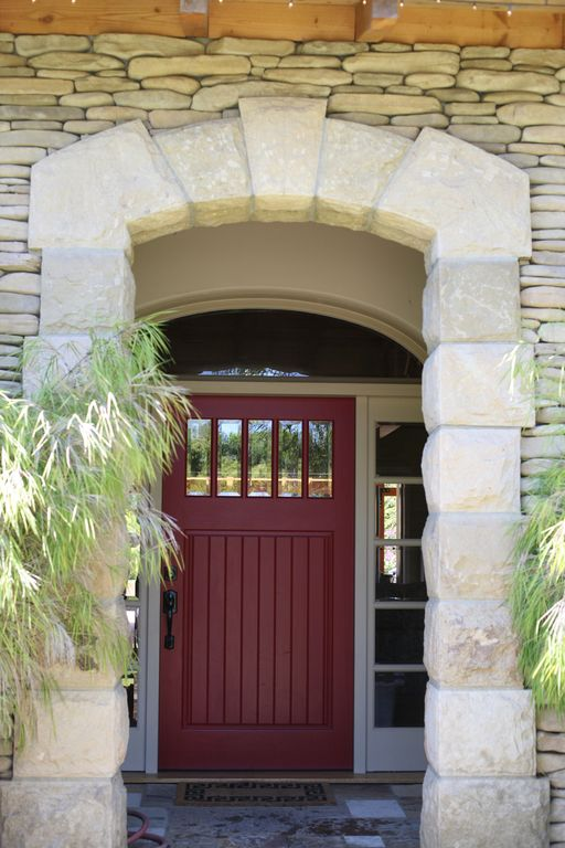 Montecito house rental - Front Door