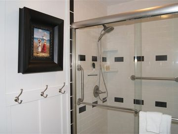 First Floor Bathroom ~ Handicap Friendly.