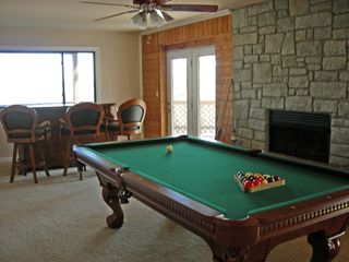 Kentucky Lake house photo - Play pool, watch the game or walk-out to the screened in covered porch!