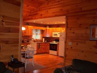 Murphy cabin photo - Spacious Kitchen and Dining Area