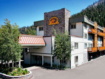 Alpine Meadows condo rental - Exterior of Resort Summer at the Red Wolf Lodge at Squaw Valley