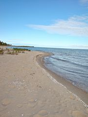 Northport cottage photo - A Petoskey Stone hunters paradise. It's absolutely addictive!