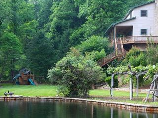 Hiawassee estate photo - House, Pond and Play Area