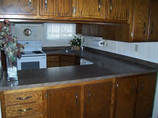 Rehoboth Beach house photo - Spacious Kitchen with pass thru to Dining Area