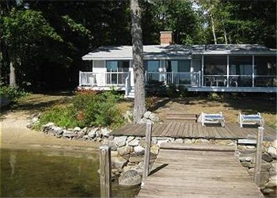 Great spot on Lake Winnipesaukee with plenty of beach area and boat dock.