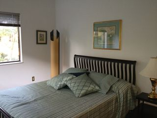Fernandina Beach townhome photo - Queen bed