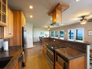 Anini Beach house photo - Fabulous Kitchen on Main level.