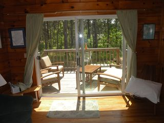 Slider to private deck - Wellfleet house vacation rental photo