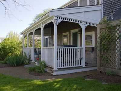 Nantucket Town house rental - FRONT PORCH