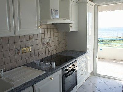 Kitchen with marvellous views